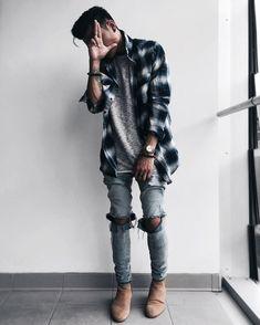 Laid Back Style Inspiration #StyleMadeEasy #MensFashionGrunge