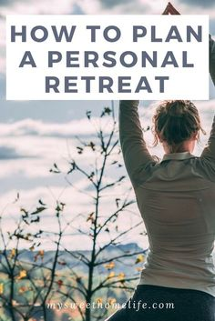 Self-care tips. Learn how to plan your own personal retreat for some much needed time away from the world. via My Sweet Home Life Mindfulness Retreat, Meditation Retreat, Personal Wellness, Personal Fitness, Personal Care, Wellness Tips, Spiritual Health, Spiritual Practices, Mental Health Retreat