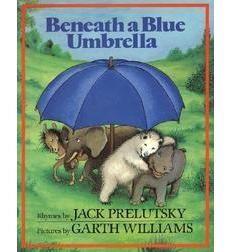 Beneath a Blue Umbrella Garth Williams #Illustration