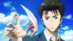 Parasite. Anime bonne dans l'ensemble, personnage un peu froid cependant, surement la volonté de l'auteur. 15/20