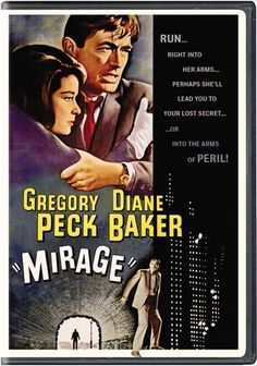 Gregory Peck, Diane Baker and Walter Matthau star in Mirage, a psychological thriller where danger, deception and even murder lurk around every corner. Description from couchpotato.com. I searched for this on bing.com/images