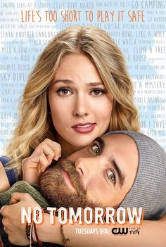 #NoTomorrow premieres Tuesday, October 4 at 9/8c on The CW!