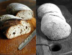Links das Walliser Landbrot, rechts das Centovalli Dinkel. Bäckerei Ruß in Guldental an der Nahe. #MoToLogie #Brot #Brotkultur