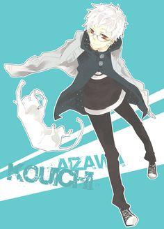 Nabari no Ou Fan Art: Kouichi Cute Anime Guys, Awesome Anime, Anime Boys, Reborn Katekyo Hitman, Hitman Reborn, School Rumble, Amagi Brilliant Park, Beelzebub, Deadman Wonderland