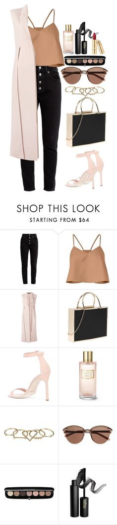 """""""Untitled #504"""" by alibasicamina ❤ liked on Polyvore featuring Balenciaga, TIBI, Calvin Klein Collection, Manolo Blahnik, Estée Lauder, Zimmermann, Witchery, Marc Jacobs and INIKA"""