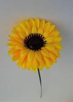 Artificial Flower Chrysanthemum Single Stem Yellow - Irish Plants Direct