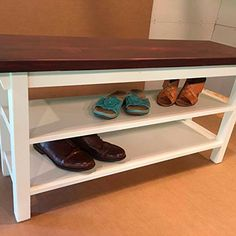 23 Super Ideas Shoe Storage Bench Plans Entry Ways Shoe Storage Plans, Shoe Storage Design, Bench With Shoe Storage, Hidden Storage, Diy Storage, Storage Spaces, Storage Ideas, Storage Solutions, Organization Ideas
