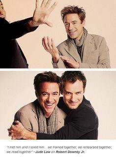 Robert and Jude, BFFs.