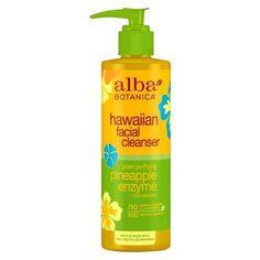 Alba Hawaiian Pore Purifying Pineapple Enzyme Facial Cleanser- 8oz