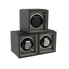 How about a set of 3 at a Special Discounted Price ? Pick any colours you like! Modular Component Watch Winder System available in 6 Colours and 2 Sizes Larger and Smaller wrists. Shown with @Hublot Big Bang and @Breitling Bentley (Not included) #watchwinder #watchrotator #watchwinders #rolex #omega #breitling #tag #cartier #gifts #forhim #gadgets #leather #velvet #luxury #musthave #Ineedone #watch #storage #watch-winder #rotator #Hublot