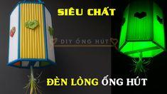 DIY Lòng đèn lục giác ống hút đẹp - Hướng dẫn cách làm chiếc đèn lồng Trung Thu từ DIY Ống Hút http://diyonghut.blogspot.com/2017/10/diy-long-en-luc-giac-ong-hut-ep-huong_8.html