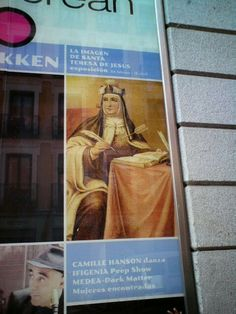 Expo en Madrid. Foto de Riselo. Santa Teresa, Madrid, Cover, Pictures