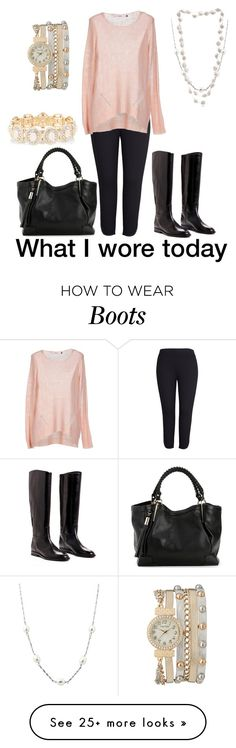 """Boots"" by jsvehla on Polyvore featuring Melissa McCarthy Seven7, ONLY, A B Davis, The Pearl Quarter, maurices, Accessorize and plus size clothing"