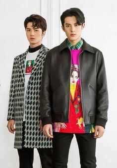 Caezar Woo and Dilan Wang Meteor Garden Cast, Meteor Garden 2018, Harry Potter, Cute Celebrities, Celebs, Pretty Men, Asian Boys, Korean Fashion, Diys