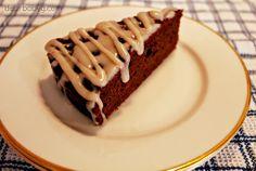 Mmmm chocolate quinoa cake...