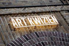 Art Kwizien luxury Brasserie design and identity by Mojo, Dendermonde hotels and restaurants branding