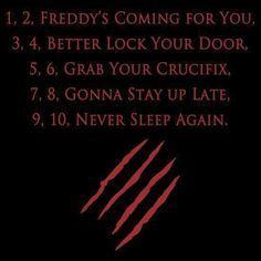 .. Never Sleep Again