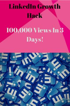 LinkedIn Growth Hack - Views In 3 Days - Purr Traffic Social Media Tips, Social Media Marketing, Growth Hacking, Achieve Success, Lead Generation, Growing Your Business, Case Study, Hacks, Learning