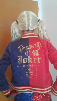 Hey, I found this really awesome Etsy listing at https://www.etsy.com/listing/240154333/harley-quinn-suicide-squad-movie-jacket
