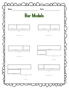 bar model drawing problem solving set singapore math math and numeracy. Black Bedroom Furniture Sets. Home Design Ideas