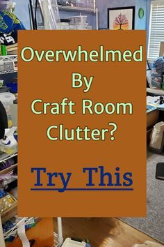 Craft Room Organization - Unexpected & Creative Ways to Organize Your Craftroom on a Budget - Uncluttering your Craft Room Clutter – Craft Room Organization Tips & Tricks - Sewing Room Storage, Sewing Room Decor, Craft Room Storage, Craft Storage Solutions, Storage Ideas, Budget Storage, Smart Storage, Hidden Storage, Diy Storage