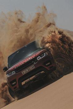 Range Rover en el Desierto.