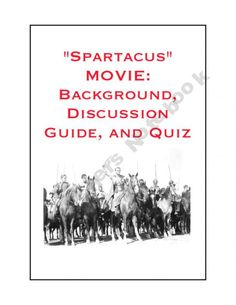 """Teaching Ancient Rome With Films: """"Spartacus"""" and """"Quo Vadis"""""""