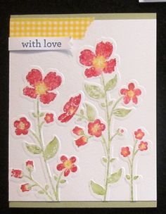 Wildflower Meadow, Stampin' Write Markers, Washi Tape