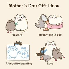 Mothers Day Ideas with Pusheen!!!!!