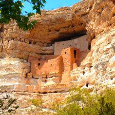 Montezuma Castle National Monument, AZ  → For more, please visit me at: www.facebook.com/jolly.ollie.77