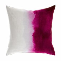 Cerise Paintbox cushion by Bluebellgray