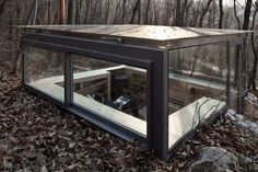 Modern Tiny House, Little Cabin, Small Buildings, Small Studio, Garden Office, Contemporary Design, Small Spaces, Entryway Tables, House Design