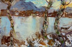 North by North West by ALLAN MACDONALD oil on canvas, 61cm x 91cm