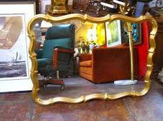 Image result for vintage mirror above sofa