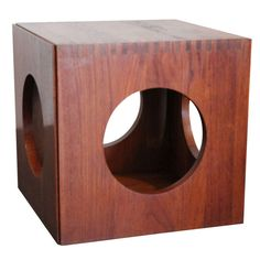 Cube Nesting Tables by Peter Hvidt for Richard Nissen   From a unique collection of antique and modern nesting tables and stacking tables at http://www.1stdibs.com/furniture/tables/nesting-tables-stacking-tables/