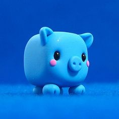 "Kawaii Pig Cube | The pig says, ""Oink!"" We make art not only… 
