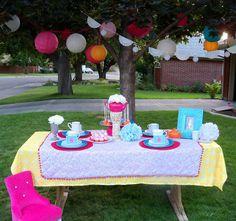 Teaparty birthday party!