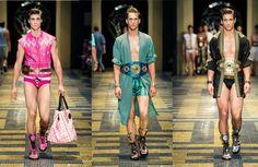 Versace Look Book Men's Spring Summer 2013