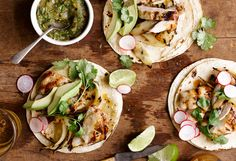West Coast Beach House: Grilled Chicken Tacos