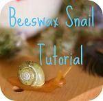 Beeswax snail tutorial