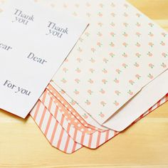 Gift Bag Envelopes : Pink Ribbon - 6pk – Dailylike Australia
