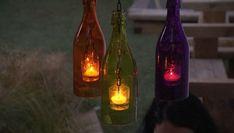 En este trabajo de Bricomanía vamos a ver cómo hacer unas botellas luminosas: una manera original de reciclar unas botellas e iluminar con ellas.