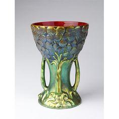 Vase  Date:  ca. 1900 (made)    Artist/Maker:  Zsolnay Ceramic Works (manufacturer)