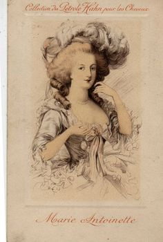 Vintage 'Marie Antoinette' post card