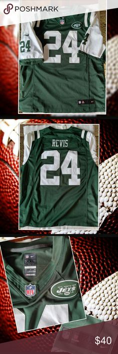 727da6911 ... Color Rush Limited Jersey NEW YORK JETS Darrelle Revis 24 JERSEY NIKE  XXL NFL NEW YORK JETS Darrelle Revis ...