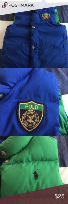 Boys puffer vest Reversible Ralph Lauren puffer vest Polo by Ralph Lauren Jackets & Coats Vests