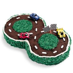 Racetrack Cake