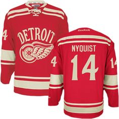 Detroit Red Wings 14 Gustav Nyquist 2014 Winter Classic Jersey - Red [Detroit Red Wings Hockey Jerseys 066] - $50.95 : Cheap Hockey Jerseys