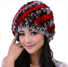 >> Click to Buy << 2016 Guarantee Top Quality 100% Natural Knitted Rabbit Fur Hat For Winter Fashion Gorros Feminino Warm Knitted Fur Cap 11 Color #Affiliate