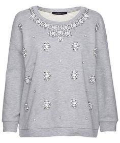 "Damen Pullover ""Melinda"" #maxmaraweekend #bling #sweater"